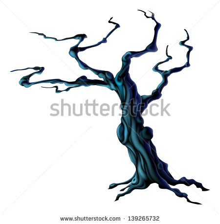 450x458 Spooky Tree Clipart Group