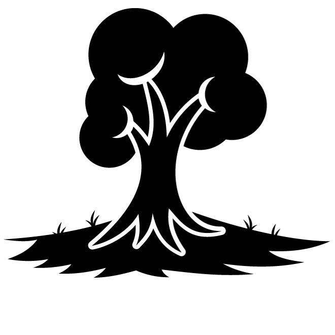 660x660 Black Tree Free Vectors Ui Download