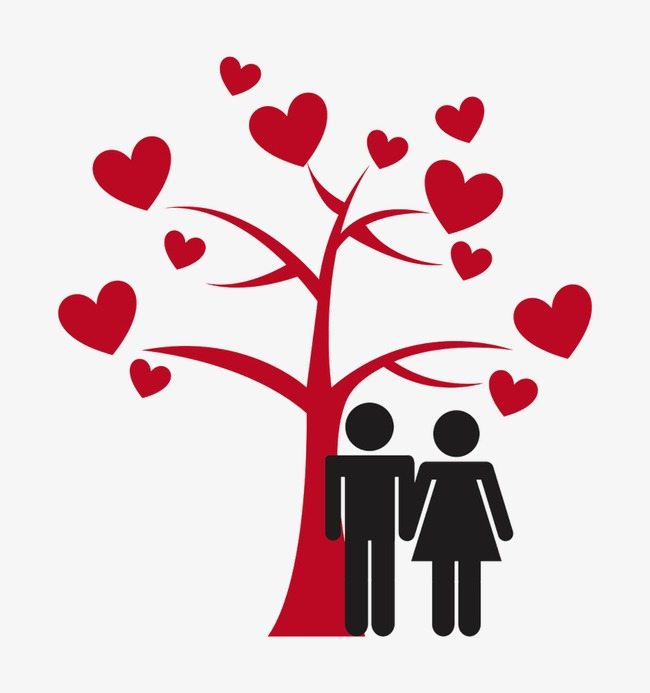 650x693 Giving Tree And Couple, Couple Silhouette, The Giving Tree, Love