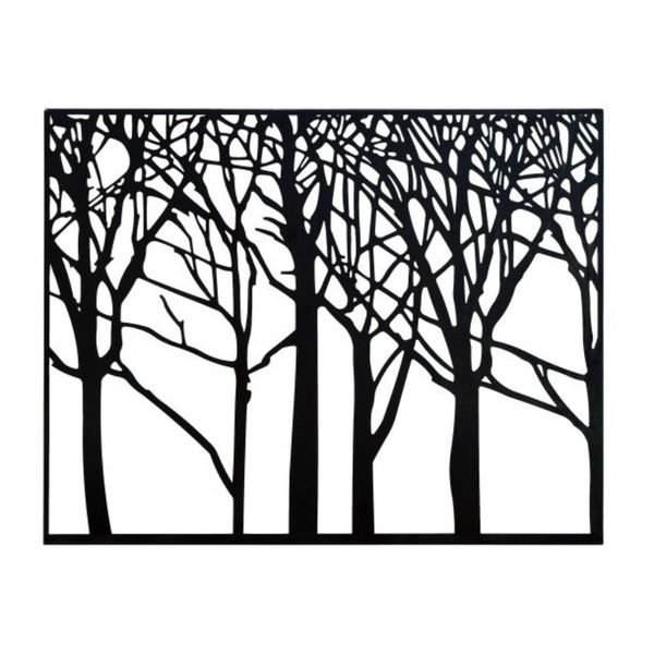 600x600 Tree Silhouette Wall