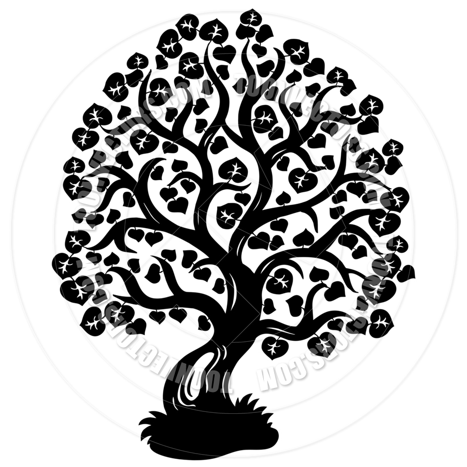 940x940 Cartoon Lime Tree Silhouette By Clairev Toon Vectors Eps