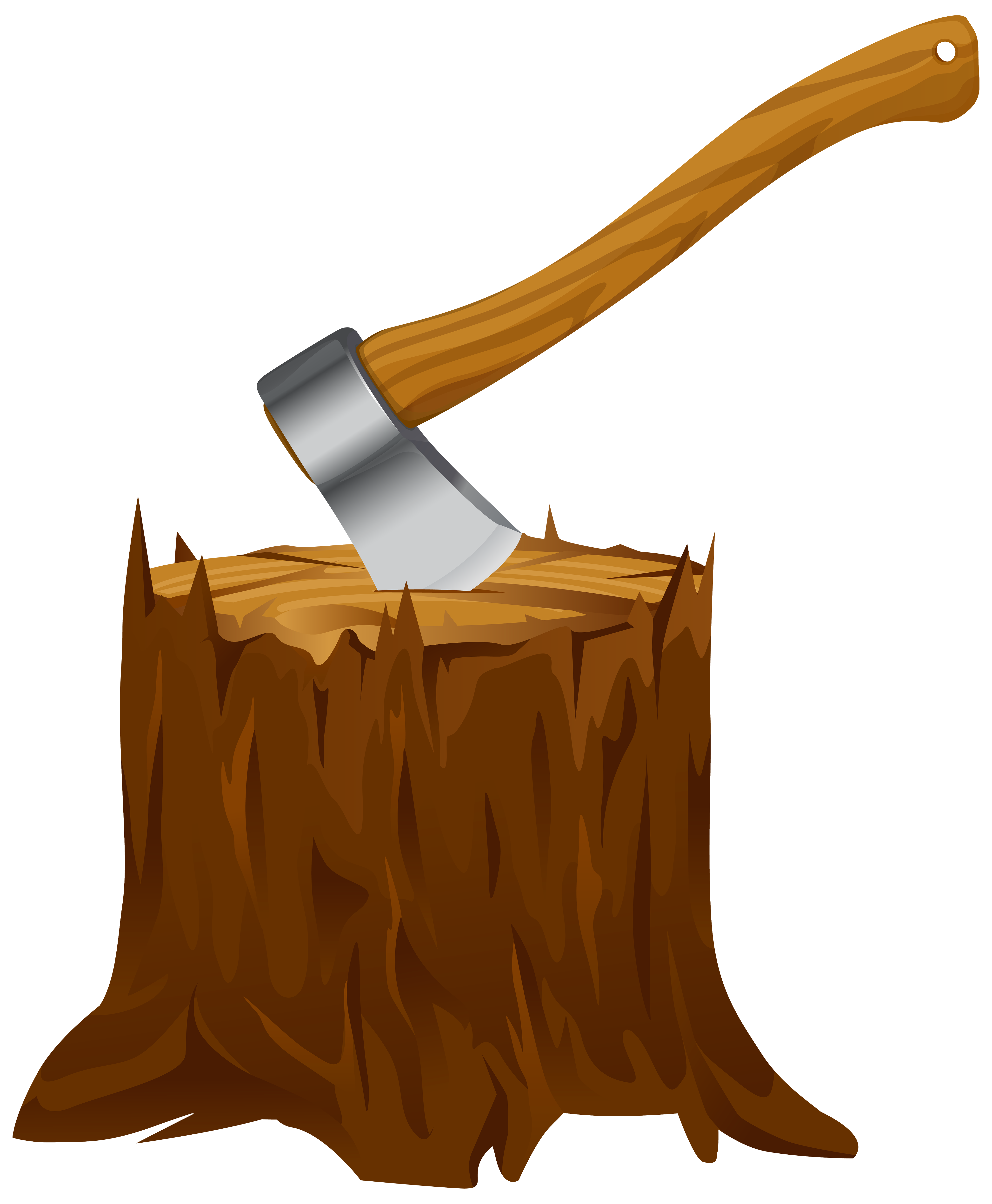 4117x5000 Tree Stump With Axe Clipart Png Imageu200b Gallery Yopriceville