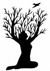 160x227 Silhouette Of A Woman Tattoo