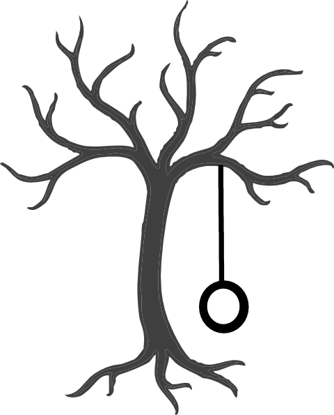 480x595 Tree With Tire Swing Clip Art