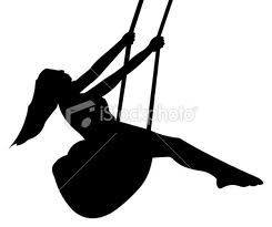 245x205 Girl Swinging Silhouette