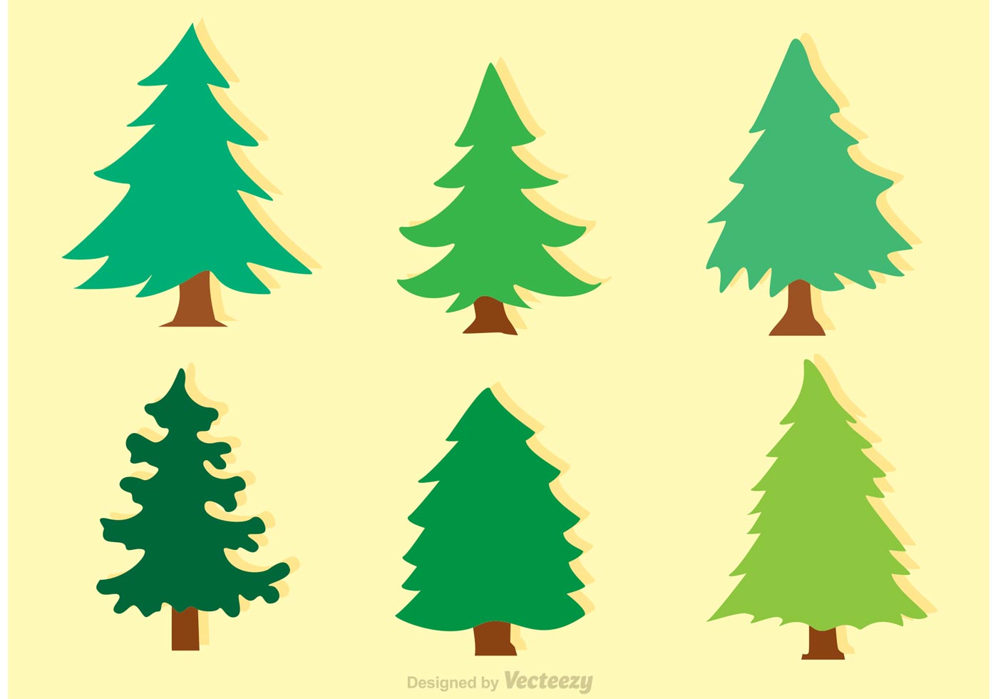 1400x980 Pine Tree Silhouette Vector Image Clipart Sky Use Of Ms Visio