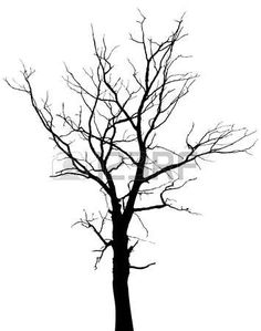 236x299 Vector Dead Tree Silhouette Round Branches A Bit More Then Add