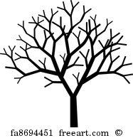 187x194 Free Art Print Of Baobab Tree Silhouette. African Baobab Tree