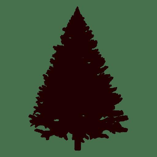 512x512 Mountain Pine Tree Silhouette