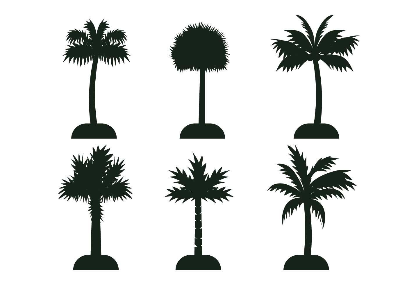 1400x980 Palmetto Tree Vector Silhouette