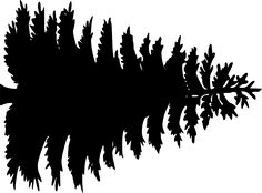 236x174 Tree Silhouettes Clip Art