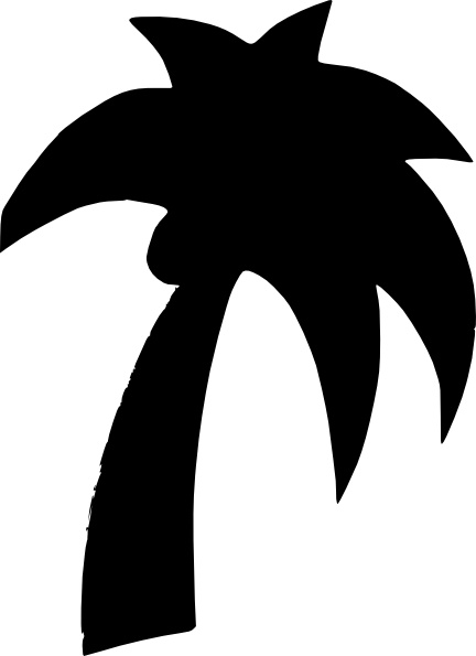 432x595 Shapes Palm Tree Clip Art Free Vector In Open Office Drawing Svg