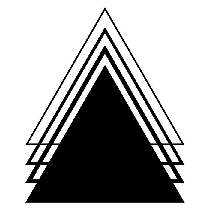 700x700 Amazing Triangle Tattoo Designs