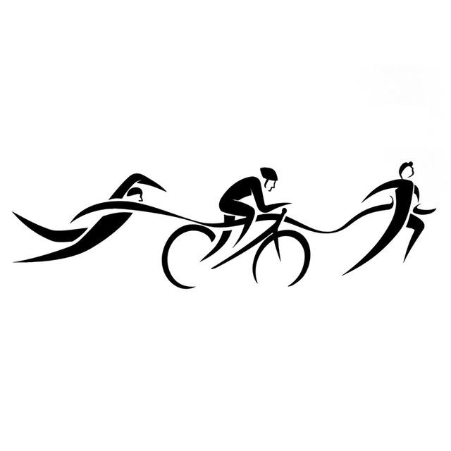 Triathlon Silhouette