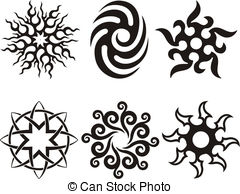 240x194 Tribal Silhouette Vector Clip Art Illustrations. 277 New Images