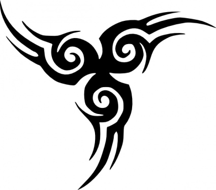 425x375 Radiant Tribal Tattoo Design Ideas With Meanings