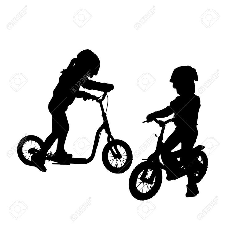 Tricycle Silhouette