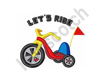 340x270 Tricycle Svg File Cutting Template Vector Clip Art For Commercial