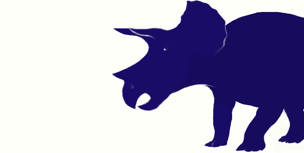 1011x511 Trike Silhouette (Revised) By Ceratopsia