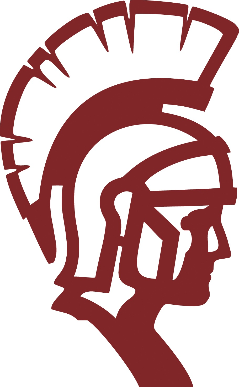 trojan head silhouette at getdrawings com free for personal use rh getdrawings com