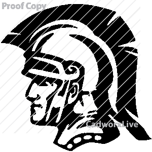 300x300 Trojan Head Clip Art