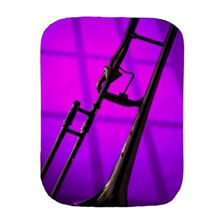 460x460 Trombone Burp Cloths