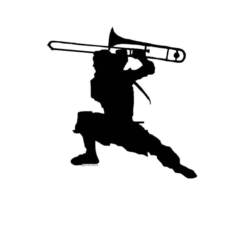 827x791 Trombone Ninja By Bassposaune