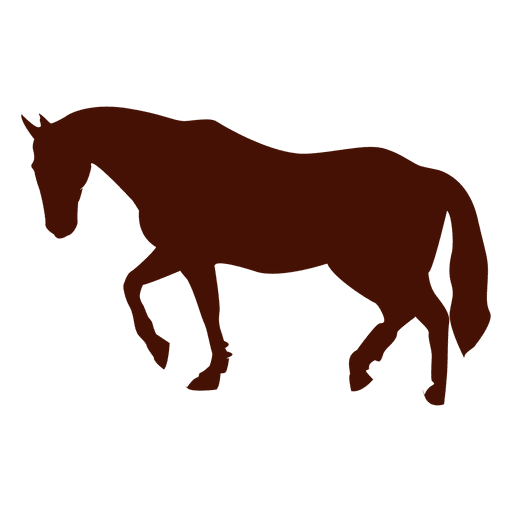512x512 Horse Trot Silhouette