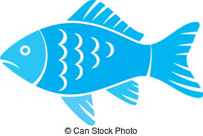 288x194 Trout Fish Silhouette Retro. Illustration Of Trout Fish Drawing