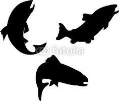 236x200 9 Best Bracelet Images On Salmon, Bear Silhouette