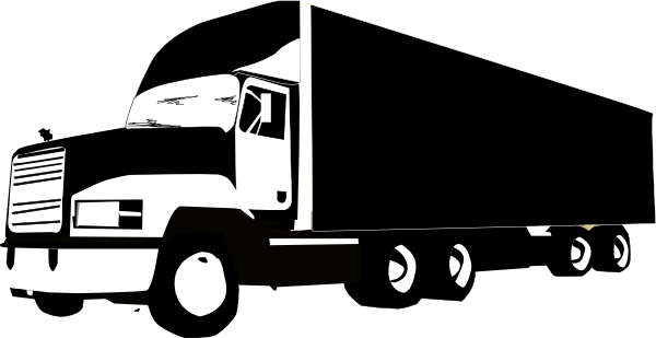 truck and trailer silhouette at getdrawings com free for barb wire images clip art barb wire clipart