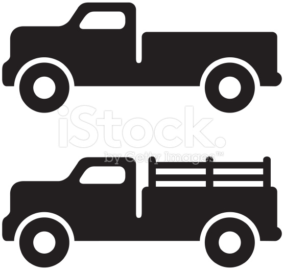 556x528 Truck Silhouette Clip Art Clipart