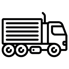 283x283 Truck Silhouette Silhouette Of Truck