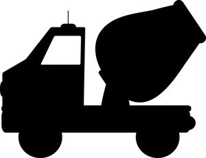 300x231 Cement Mixer Clipart Image Silhouette Of A Cement Mixer Truck