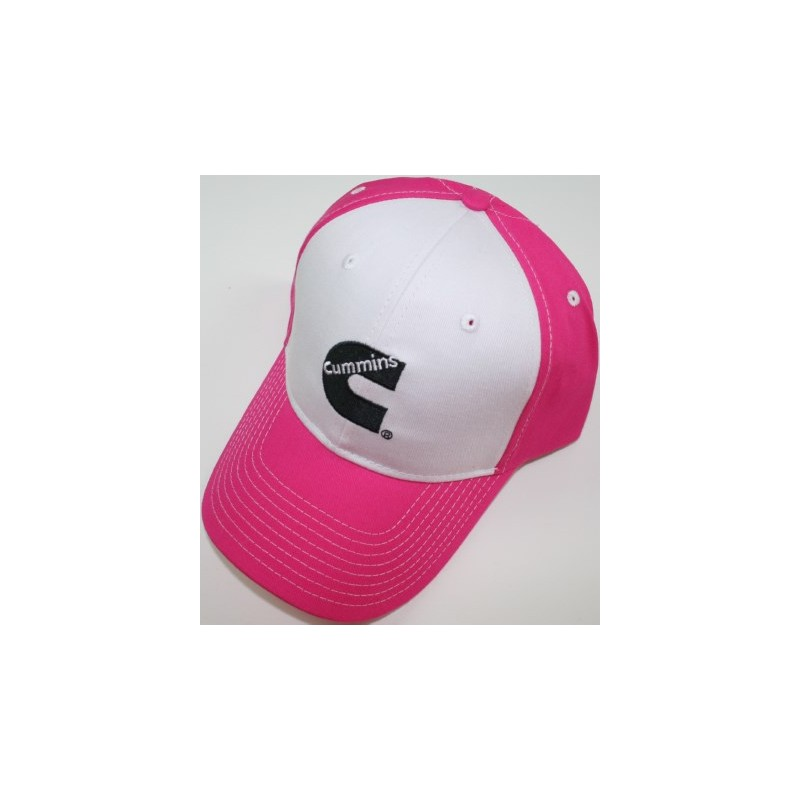 800x800 Cummins Hot Pink Girl Base Ball Cap Hat Ladies Trucker