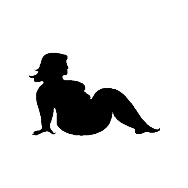 640x640 Plump Trucker Girls Vinyl Decal Funny Jdm Bbw Mudflap Off Road 4x4