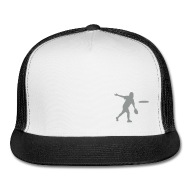 190x190 Ultimate Frisbee Hat Backhand Silhouette By Ecohen Spreadshirt