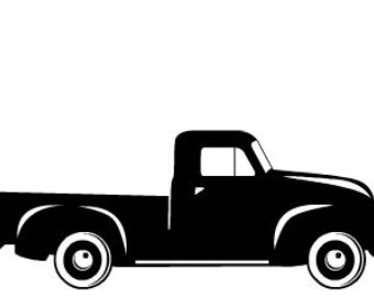 340x270 Pin Truck Clipart Silhouette 6. Flat Icon Design Collection Kids