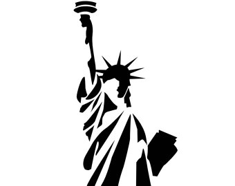 340x270 Stencil Donald Trump President United States Svg Dwg Dxf Png