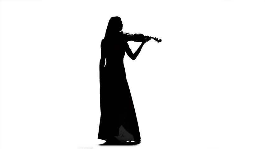 Trumpet Player Silhouette