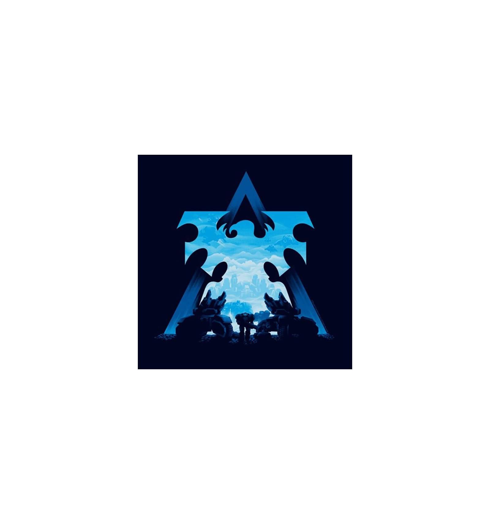 1600x1710 Starcraft 2 T Shirt Terran Silhouette Shop Online