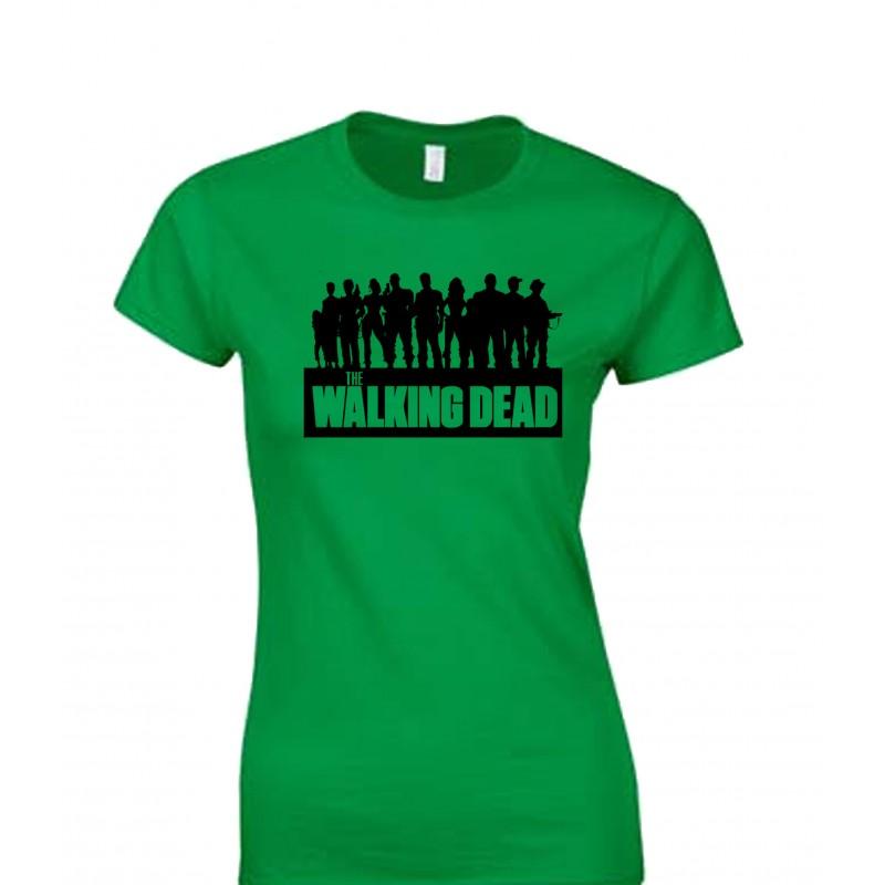 800x800 Walking Dead Crew Silhouette Juniors T Shirt