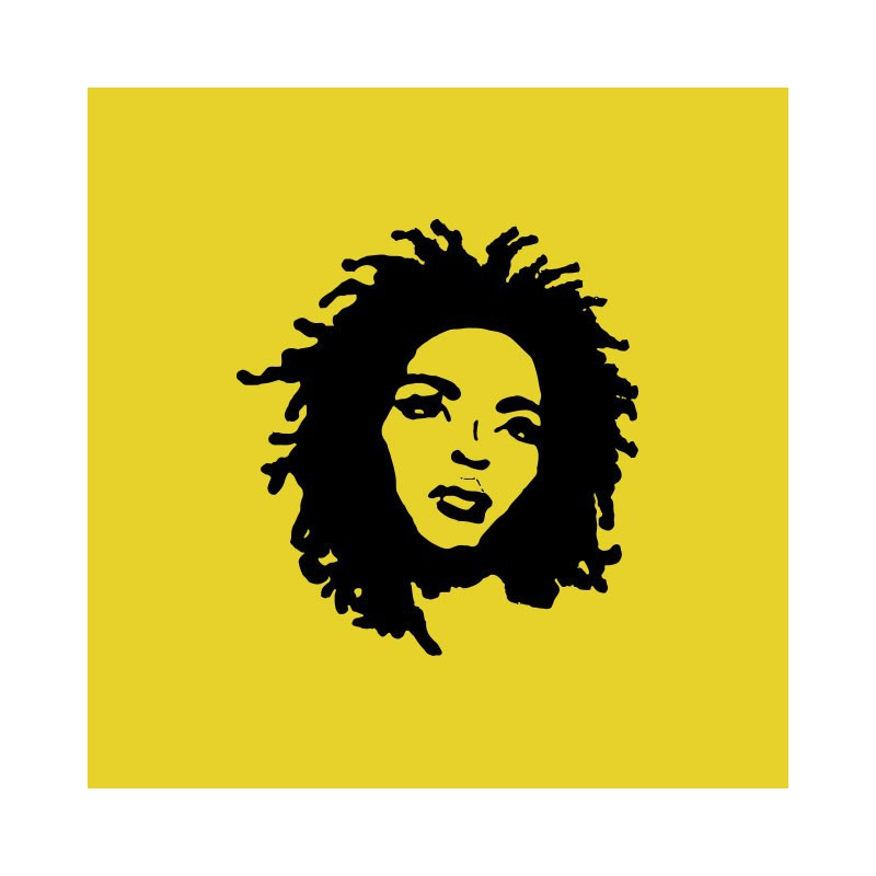 800x800 Shirt Lauryn Hill Miseducation Silhouette Yellow