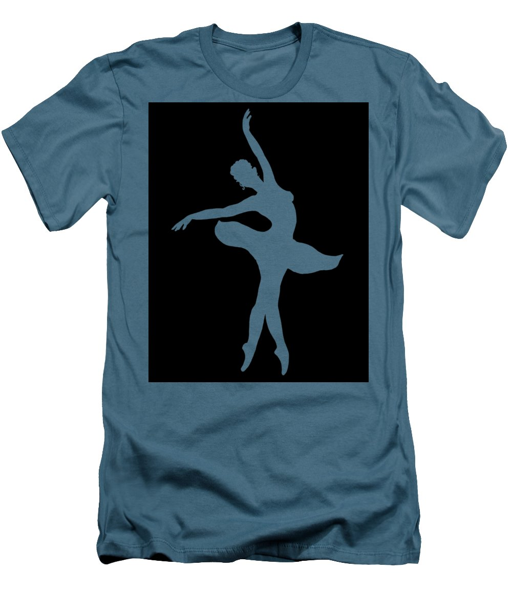 1000x1200 Dancing Ballerina White Silhouette T Shirt For Sale By Irina