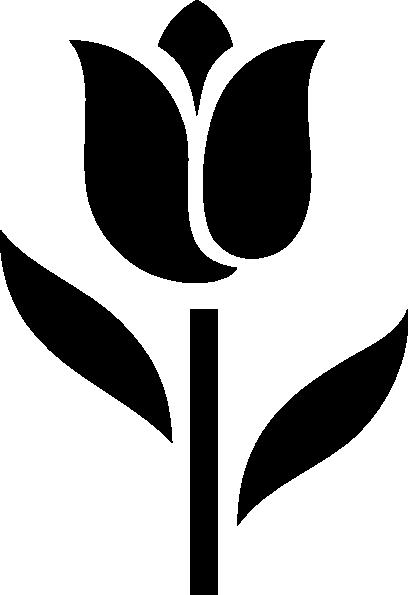 408x595 Tulip Icon Clip Art
