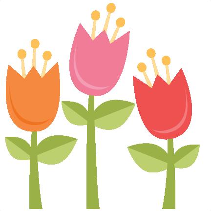 432x432 Spring Tulip Miss Kate Cuttables Cricut