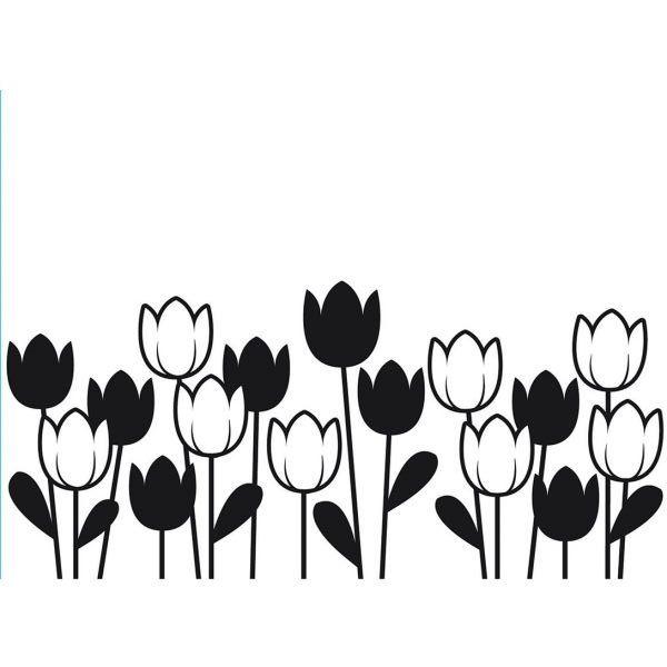600x600 Tulip Silhouette Darice Spring Tulips Embossing Folder