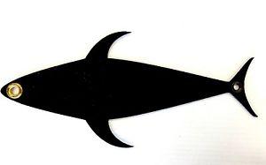 300x187 Fish Razr 12 Tuna Silhouette Mudflap Teaser Trolling Dredge Lure