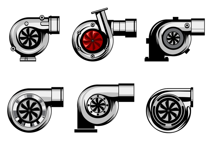 700x490 Turbo Charger Icons