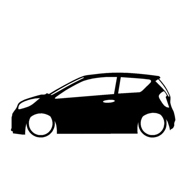 640x640 Wholesale 1020304050pcslot Vauxhall Opel Outline Silhouette
